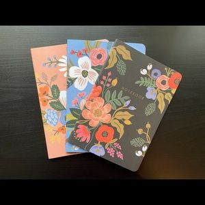 Rifle Paper Co Floral Notebooks